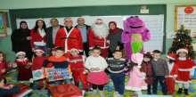 إحياء عيد الميلاد في مدرسة قدموس بجنوب لبنان