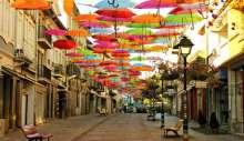 مهرجان المظلات الملونة في البرتغال