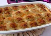 بالفيديو ... صينية البطاطس بالشاورما من مطبخ منال العالم