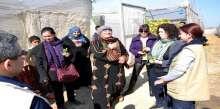 العمل الزراعي يستقبل وفدان دوليان في قطاع غزة
