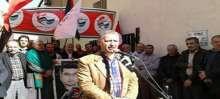 """اعتصام """"خميس الاسرى 99 """" امام الصليب الاحمر الدولي في صور"""