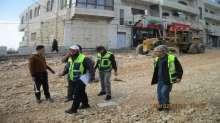 م. جاد الله: استمرار العمل في مشروع اعادة تاهيل طريق رام الله