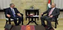 الحمد الله يستقبل رئيس بعثة صندوق النقد الدولي