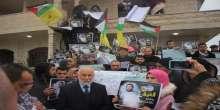 وقفة تضامنية مع القيق في اليوم الخامس والسبعون لاضرابه المتواصل عن الطعام