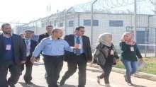 وفد من وزارة العدل ووكالة التعاون الإنمائي الايطالي يزور مركز الإصلاح والتأهيل في أريحا