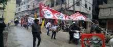 حزب الشعب الفلسطيني في طرابلس يحي الذكرى 34 لإعادة تأسيسه،بتنظيم مسيرة جماهيرية حاشدة في مخيم البداوي