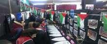 مجموعة كشافة ومرشدات العربي المسيحي تزور المعرض الكشفي الثاني لعشيرة النجاح