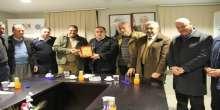 نقابة السواقين في اريحا والاغوار تجتمع بمدير عام شرطة محافظة اريحا والاغوار