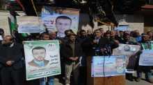 حركة الجهاد ومهجة القدس تنظمان وقفة تضامنية مع الأسير القيق