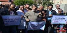 أطر نقابية صحية تابعة لمنظمة التحرير في غزة تُضرب احتجاجا على عدم مساواتهم بزملائهم في الضفة