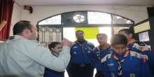مجموعة كشافة ومرشدات يافا تزور المعرض الكشفي الثاني لعشيرة النجاح