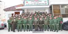 اللواء جيوسي يقلد ضباط الارتباط العسكري الانواط والميداليات العسكرية