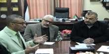 """بلدية رفح و""""UNDP"""" يناقشان سبل تعزيز التنمية الاقتصادية"""