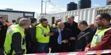 الوزير الحساينة يطلع على اخر مستجدات مشروع مبنى الحكم المحلي