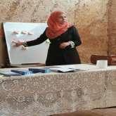 مركز مصادر التنمية الشبابية في نادي أهلي قلقيلية يفتتح  دورة ريادة الأعمال