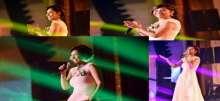بالصور: في أول اطلالة لها...شيرين تقدم على أمر مفاجئ وصادم على المسرح !!