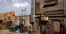 فنان عراقي يصنع مدينة صغيرة بأدق تفاصيلها