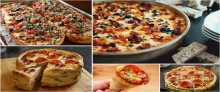 طريقة عمل البيتزا بـ ٢١ وصفة مختلفة وشهية
