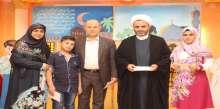 عيديّات وكسوة عيد وجوائز مالية لأبناء جمعية المبرّات الخيرية