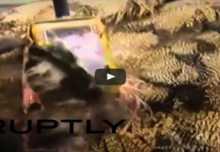 """قناصة الشرطة تفجر طائرا """"انتحاريا"""" بأفغانستان"""