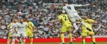 ملخص مباراة ريال مدريد وفياريال