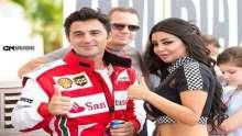 """بالفيديو والصور… رولا يموت مثيرة في حلبة سباق الـ""""Grand Prix"""""""