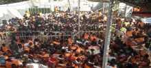 إنقاذ 2200 مهاجر قبالة ليبيا الاثنين والعثور على 16 جثة