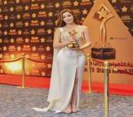 """نسرين طافش """"أفضل ممثلة عربية"""" لعام 2016"""