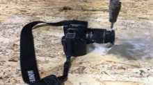 مسدس ماء أسطوري يخترق الحديد والخشب