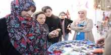 توكل كرمان وشيرين عبادي تزوران اللاجئين السوريين في الأردن