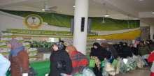 الحملة الوطنية السعودية تصل للمحطه 21 من سلسلة توزيعات المساعدات الاغاثية للسوريين في لبنان