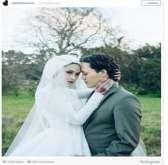 استوحي من صور العروسة المحجبة