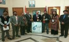 مهرجان دلهي السينمائي الدولي يكرم سفارة دولة فلسطين على جهودها في إنجاح المهرجان