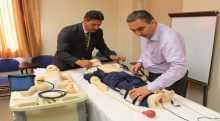 مركز الجامعة العربية الأمريكية لإنعاش القلب والتنفس يحصل على شهادة الاعتماد العالمية من جمعية القلب الأمريكية