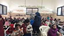 زيتونة تقيم نشاط ترفيهي وتوعية الاطفال بزمن النزاعات والأحداث الأمنية