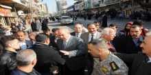 اَهالي مدينة الكاظمية يستقبلون الدكتور اياد علاوي