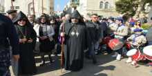 Orthodox Armenians begin Christmas celebrations in Bethlehem