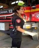 أكثر نساء الإطفاء جاذبية في العالم