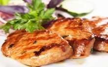 دجاج بصلصة الباربيكيو