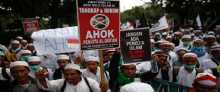 Thousands in Jakarta for mass prayer before election