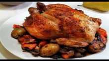الدجاج بالكيس الحراري على طريقة منال العالم