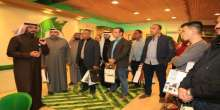 القوات الجوية القطرية و التحالف العربي يزورون قرية عسير