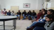 اتحاد الشباب الديمقراطي الفلسطيني ورشة عمل حول الزواج المبكر