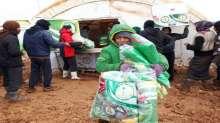 """مبادرة """"لأجلك يا حلب"""" تستهدف تقديم المساعدات الاغاثية للنازحين السوريين"""