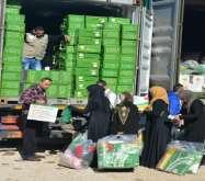 الحملة الوطنية السعودية تستمر بتوزيع المساعدات الاغاثية لفصل الشتاء