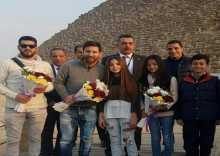 ميسي يعلق على زيارته لمصر