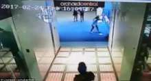 Boy falls four floors to his death after jumping over a rail at a Singapore shopping mall