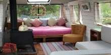 بريطاني يحول حافلة قديمة لمنزل