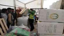 الحملة الوطنية السعودية تنتهي من توزيع المساعدات الشتوية