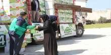 توزيع مساعدات على السوريين في التن اوز و كلس